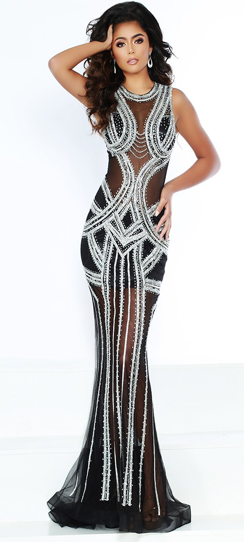 Jasz Couture Kardashian Dress 6400