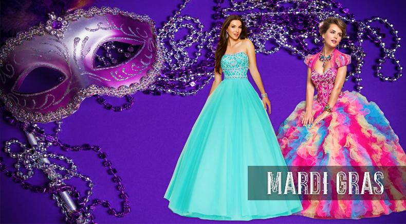 Mardi Gras Prom Dresses | PromHeadquarters.com