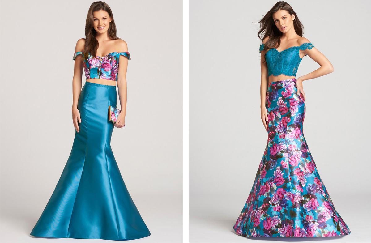 7f448e090 Mermaid silhouette prom dresses come in a wide variety of different colors